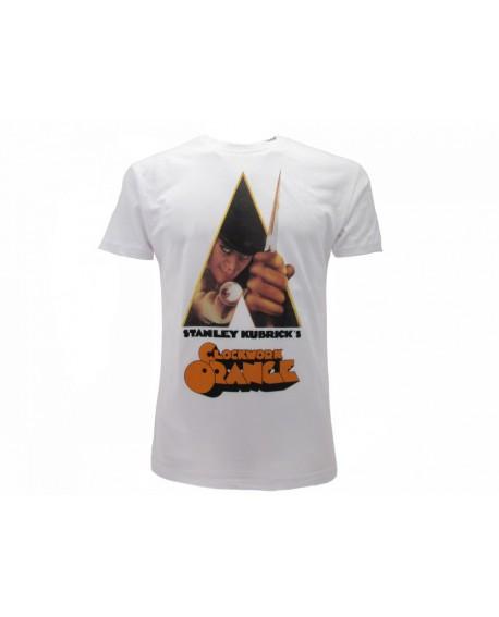 T-Shirt Arancia Meccanica Locandina - AM2.BI