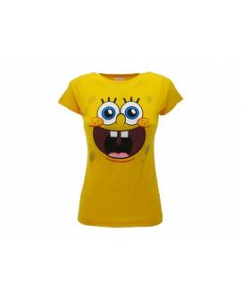 T-Shirt Spongebob Smile Lady - SPOLL.GI