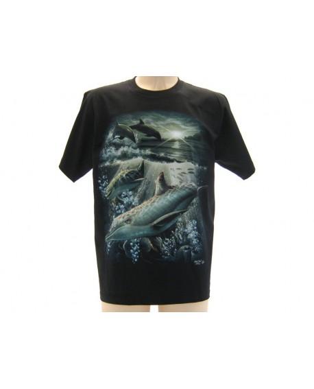 T-Shirt Animali Delfino - ANDEL49