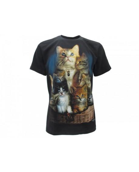 T-Shirt Animali Gatti - ANGA2
