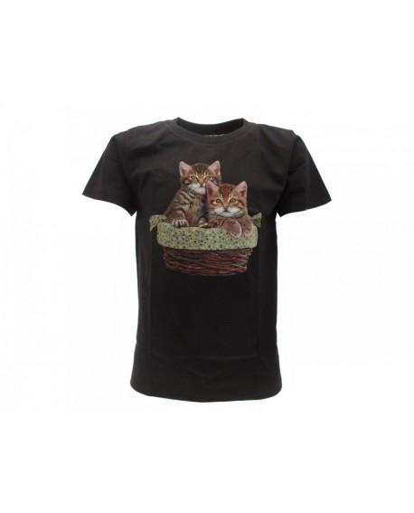 T-Shirt Animali Gatti - ANGA2B