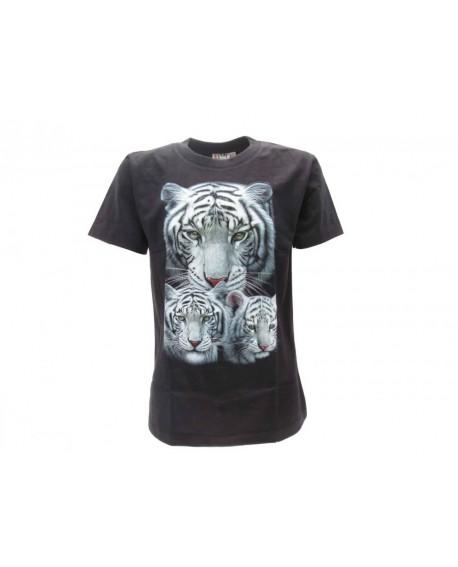 T-Shirt Animali Tigre Bianca - ANTI3B