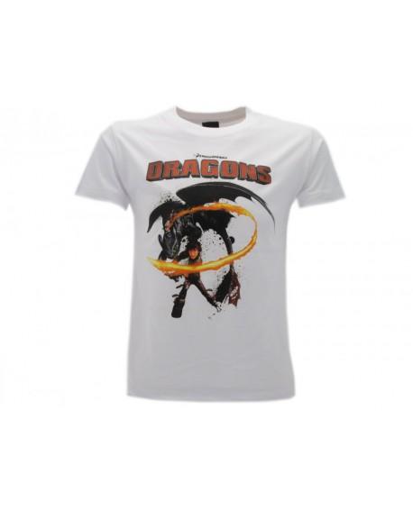 T-Shirt Dragon Trainer Hiccup - DRABO.BI