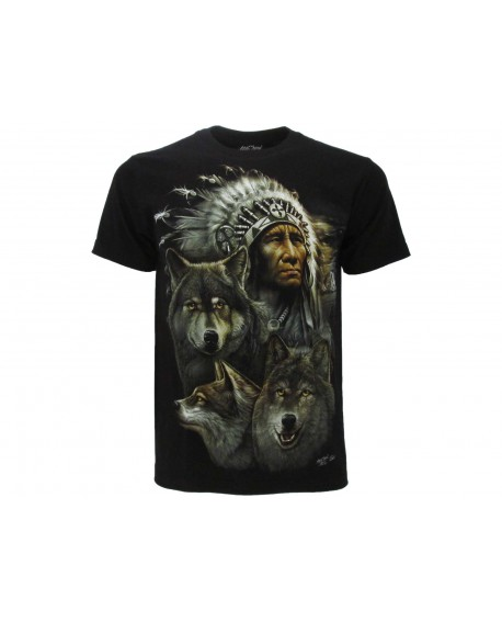 T-Shirt Nativi Americani - IND6