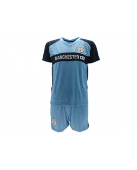 Kit maglia piu' pantaloncino Calcio Ufficiale Manc - MCKA19C