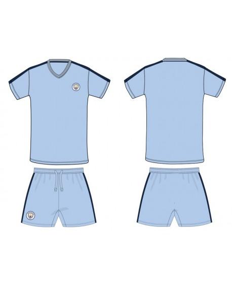 Kit maglia piu' pantaloncino Calcio Ufficiale Manc - MCNE19C
