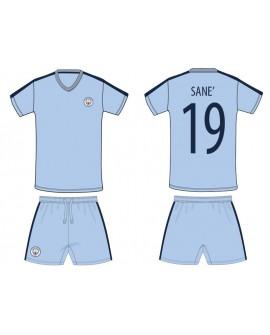 Kit maglia piu' pantaloncino Calcio Ufficiale Manc - MCSA19C