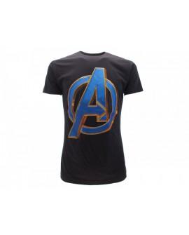 T-Shirt Avengers logo - AVL19.BN