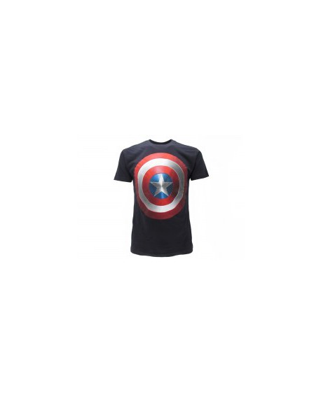 T-Shirt Captain America Scudo - CAPSCU.BN
