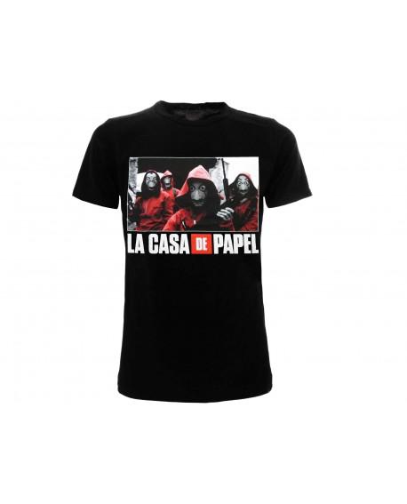 T-Shirt Casa di Carta ( La Casa de Papel ) - CDC2.NE
