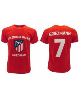 T-Shirt Cotone Griezmann Ufficiale Atletico Madrid - AMTSHGR