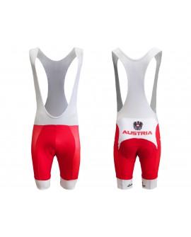 Pantaloni/Salopette Ciclismo Austria - CICAUSP01