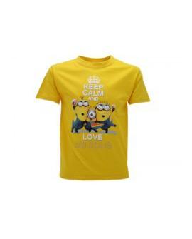 T-Shirt Cattivissimo Me 2 keep calm - CMKC.GI