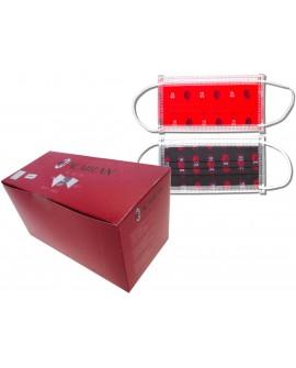 Box da 50pz Mascherina Milan Adulto 2 Grafiche - MILMASC1