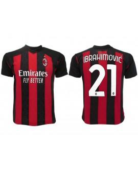 Maglia Calcio Ufficiale AC Milan Ibrahimovic 20/21 - MIIB21