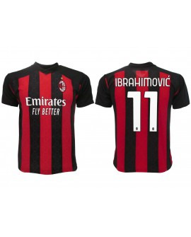 Maglia Calcio Ufficiale AC Milan Ibrahimovic 20/21 - MIIB21A