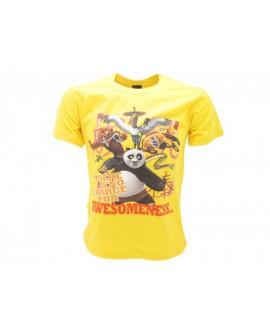 T-Shirt Kung Fu Panda Grouppo - DWKPG.GI
