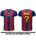 Maglia Calcio FCB Barcelona Personalizzabile 2021 - BAPER21