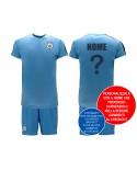 Kit maglia e pantaloncino Manchester City Pers. - MCPER19C