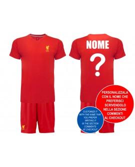 Kit maglia e pantaloncino Liverpool Personaliz. - LIPER19C