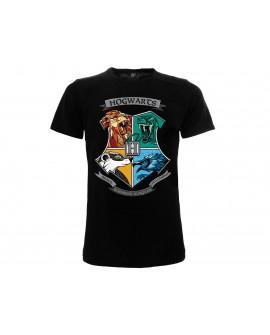 T-Shirt Harry Potter Casate Hogwarts - HP19.NR