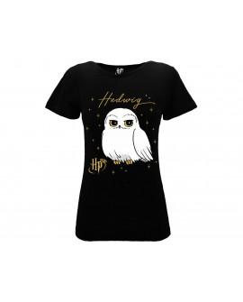 T-Shirt Harry Potter Edvige Donna - HP20.NR
