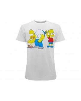 T-Shirt Simpsons Homer e Bart dollari - SIMSOL.BI