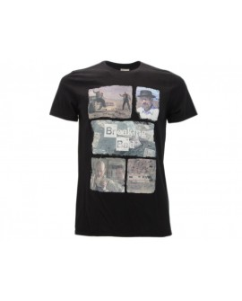 T-Shirt Breaking Bad Collage - BBCO.NR
