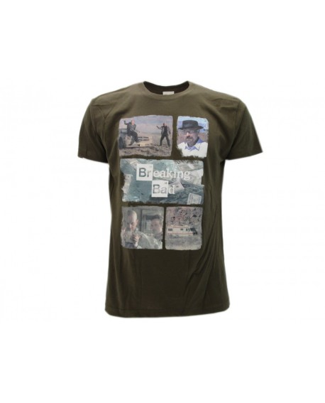 T-Shirt Breaking Bad Collage - BBCO.VR