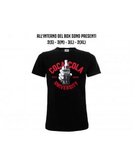 Box 10pz T-shirt Coca-Cola University - COCA1