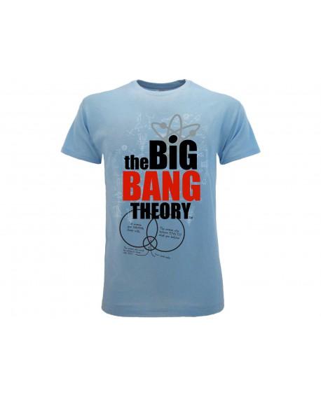 T-Shirt Big Bang Theory logo - BBT16.AZ