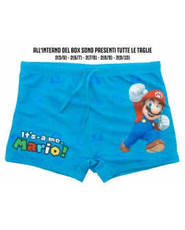 Box 10pz Costume Nintendo Super Mario - It's-a Me - SMCOS2