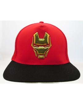 Cappello Iron Man Maschera - One Size Regolabile - IMCAP3