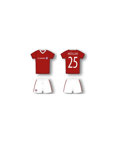 Kit maglia piu' pantaloncino Calcio Ufficiale Baye - BMMU19C