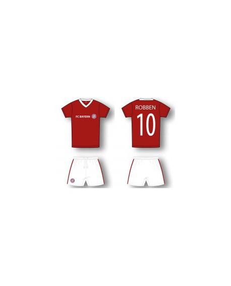 Kit maglia piu' pantaloncino Calcio Ufficiale Baye - BMRO19C