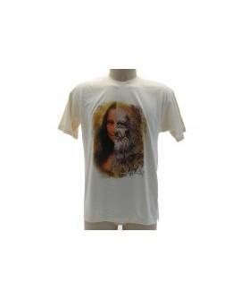 T-Shirt Turistica Leonardo e Gioconda - ARTLGIO.BEJ