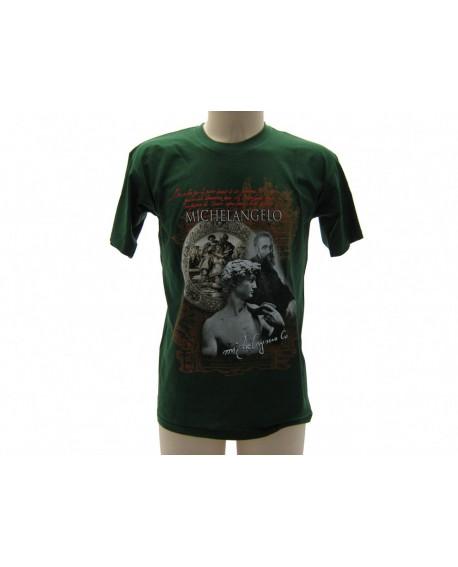 T-Shirt Turistica Michelangelo Volto - ARTMICVOL.VR