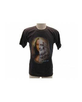 T-Shirt Turistica Leonardo e Gioconda - ARTLGIO.MAR