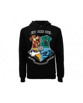 Felpa Harry Potter Casate Hogwarts - HP19F.NR