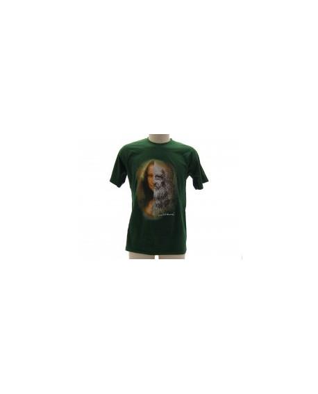 T-Shirt Turistica Leonardo e Gioconda - ARTLGIO.VR