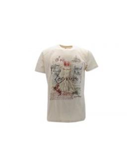 T-Shirt Turistica Leonardo Vetruviano - ARTLVETR.BEJ