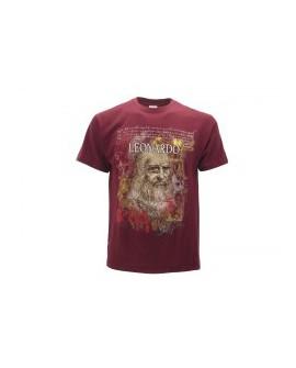 T-Shirt Turistica Leonardo Volto - ARTLVOL.BO