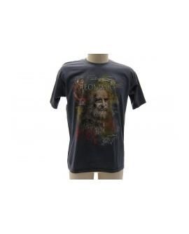 T-Shirt Turistica Leonardo Volto - ARTLVOL.GR