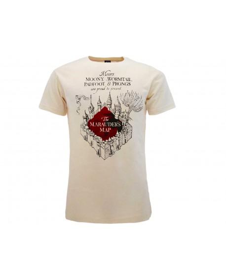 T-Shirt Harry Potter Mappa del Malandrino - HP7.NAT