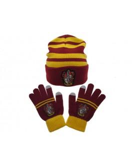 Set berretto + guanto Harry Potter Grifondoro - HPSET1