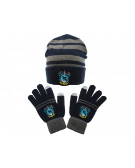 Set berretto + guanti Harry Potter Corvonero - HPSET2