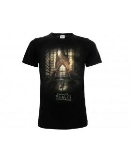 T-Shirt Animali Fantastici Ministero NYC - FB1.NR