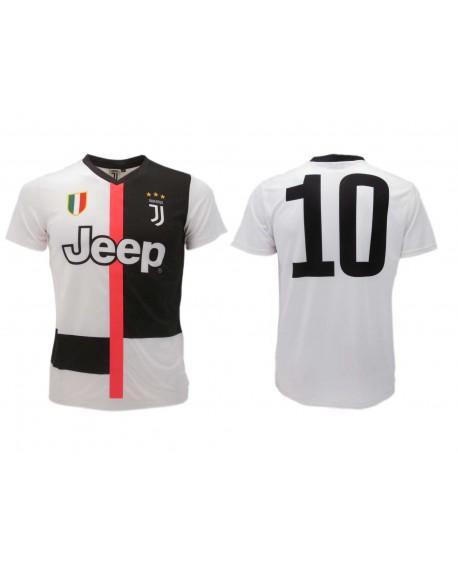 Maglia Calcio Ufficiale Juventus FC n. 10 19/20 - JUNE10