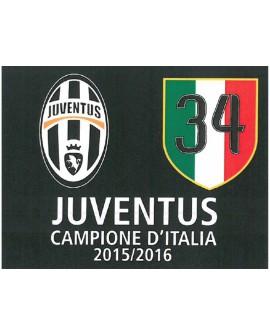 Bandiera Juventus Celebrativa 100X140 - JUVBANC.S