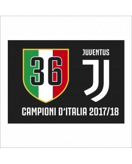 Bandiera Juventus Celebrativa  100X140 - JUVBANC18.S